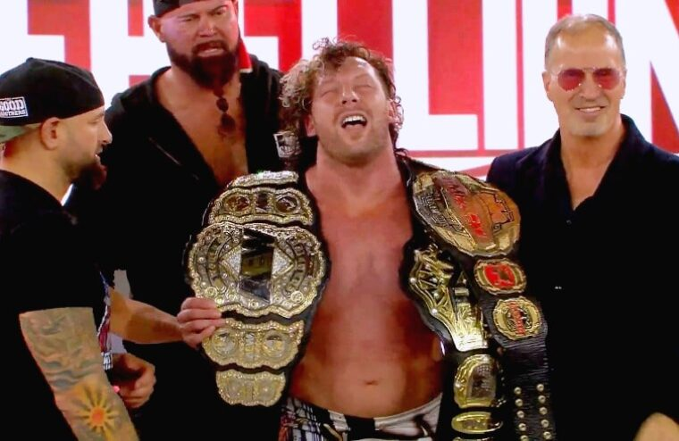 Kenny Omega Collects Two New Championship Belts At Rebellion PPV