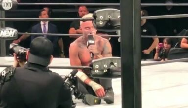 Darby Allin Cut A Passionate Promo For Fans In Attendance Following Dynamite Defeat