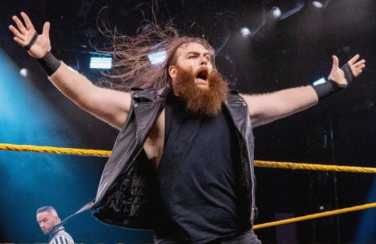 Killian Dain Talks About Being Unable To Wrestle In The US