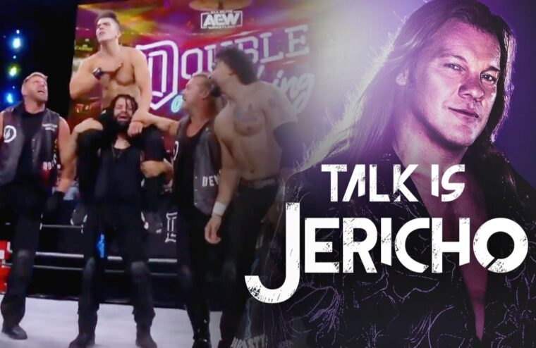 Talk Is Jericho: The Inner Circle Rappels Down Stadium Stampede #2