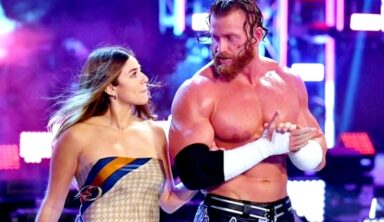 Buddy Murphy Wasn't Comfortable Having An Onscreen Relationship With Aalyah Mysterio