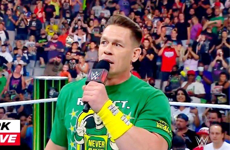 John Cena Addresses Live Crowd Following His WWE Return (w/Video)