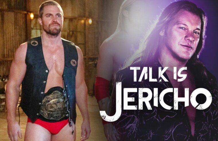 Talk Is Jericho: Stephen Amell Heels On The Green Arrow