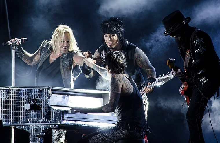 Mötley Crüe's Nikki Sixx Reveals Who He Blames For Vince Neil's Recent Stage Fall